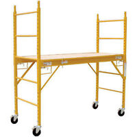 6-ft. Scaffolding Baker Style - Stackable / Brand New