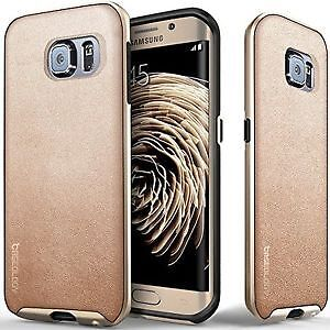 Samsung Galaxy S6 Edge Caseology Case Envoy Series Gold/Black