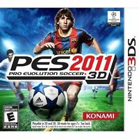 PES 2011 FOR 3DS