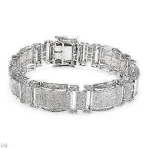 Diamond Bracelet Tennis Bangle Black Women S Ebay