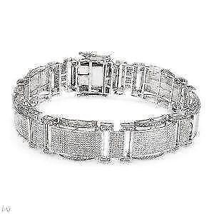 94d3301b94f Diamond Bracelet - Tennis, Bangle, Black, Women's | eBay
