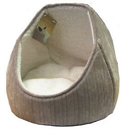 Chenille Hooded Cat Bed From Pets At Home
