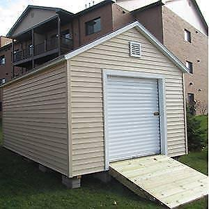 Toy shed 6 x 7 roll-up door