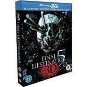 Final Destination 5 3D Blu Ray