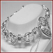 Antique Sterling Silver Bracelet