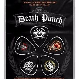 Five Finger Death Punch Plectrums (Pack Of 5)