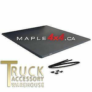 Trifold Soft Tonneau Cover 2007-2018 Toyota Tundra INSTALLED