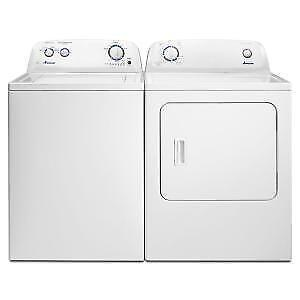 Amana washer dryer combo  NTW4516FW  YNED4655EW   (AM601)