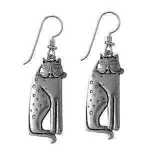 Laurel Burch Cat Earrings