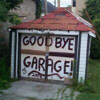 Garage Demolitions