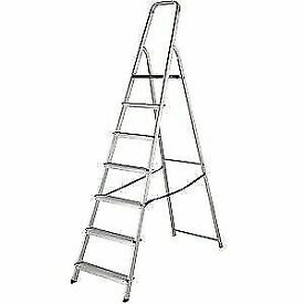 7 STEP - HIGH HANDRAIL STEPLADDERS 7 TREAD
