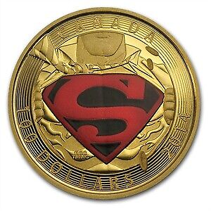 Cdn Mint SuperHeroes Coin Collection