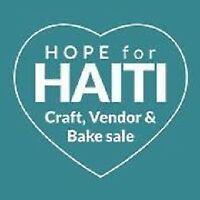 Craft/vendor table rental - Hope for Haiti craft sale
