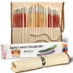 Artify 26 Pcs Paint Brushes Art Set for Acrylic Oil Watercolor
