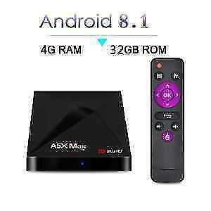 ANDROID 8.1 TV BOX IPTV IP TV BOITE TELE 6 MONTH WARRANTY