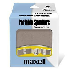 Maxell P-18 Portable Speakers (IPOD,MP3,LAPTOPS)
