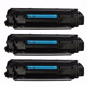 4 Pack Black Combo Canon CRG-128 Toner Cartridge New Compatible