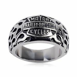 Womens Harley Ring, stainless, size 7