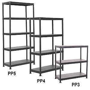 3 Tier Plastic Shelving