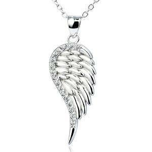Feather pendant ebay sterling silver feather pendant aloadofball Images