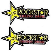 Rockstar Energy Aufkleber