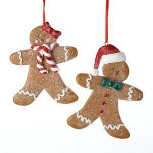 gingerbread house ornament - Gingerbread Christmas Tree Decorations