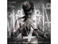 Justin Bieber x 4 seats for Manchester arena on Sunday 23rd