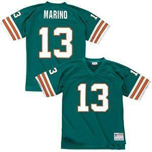 14ea74cc mitchell and ness dan marino jersey miami dolphins 13 white with ...