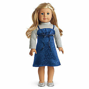 American Girl Doll Clothes Sapphire Party Outfit retired