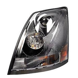 Lumière Assemblée Volvo VNL Headlight Phare Avant Avec bump noir