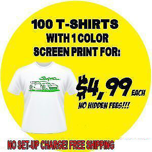 Custom Shirts - Direct from Printer