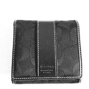 Coach card case ebay coach credit card case reheart Image collections