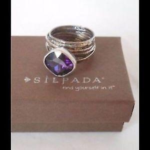 Silpada Gladiator Glam Ring