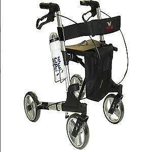 Walking aid for the aged with a trolley aid for pregnant women