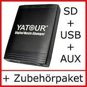 USB SD MP3 Wechsler CD Aux Adapter