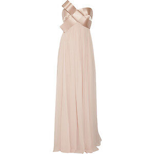 Notte By Marchesa blush gown size 8.