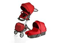 Stokke® Xplory® Pushchair and carry cot