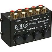 RCA Mixer