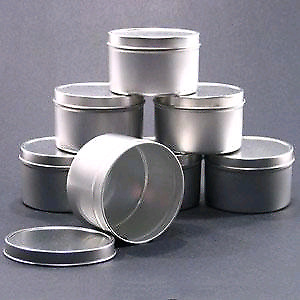 243 (2oz, 4oz, 8oz) TIN CONTAINERS, SEAMLESS CANS, METAL CANS