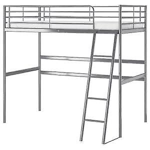 Ikea SVÄRTA Bunk bed with bed top, GREAT condition barely used