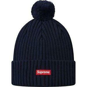 Letter Patch Label Knitted Beanie - Black