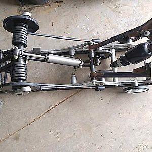 2009 Arctic Cat Z1 Turbo Suspension