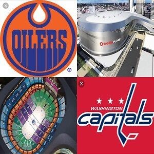 4 Tickets, Oilers vs Wash. Capitals - CHEAPER THAN TICKETMASTER