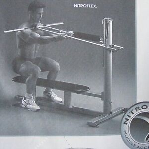 NITROFLEX Muscle Accelerator workout exercise machine