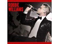 pair Robbie williams tickets