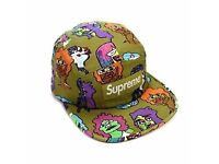 Supreme Green Gonz camp hat Brand NEW Rare
