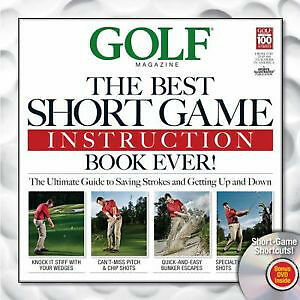 Golf: the Best Short Game Instruction Book Ever! DVD inc . NEW