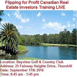 How to buy properties pennies on a dollar & Flip for Profit  in Cambridge Kitchener Area image 1
