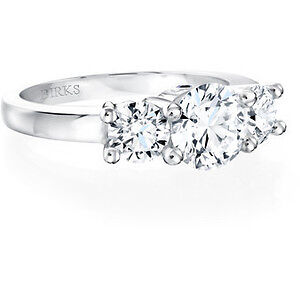 BIRKS PLATINUM ENGAGEMENT RING FROM THE AMORIQUE VALUE $10,000!!
