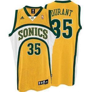 Sonics Jersey  Basketball-NBA  a528d3e410